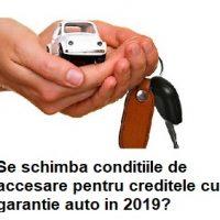 Credite cu garantie auto